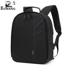 Upgraded Waterproof Video Case Digital DSLR Multi Functional Camera Bag for Canon Nikon Comfortable Camera Strap Shockproof Bags