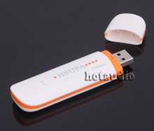Hotaudio WCDMA 3G Wireless Network Card USB Modem Adapter for PC Tablet SIM Card HSUPA EDGE  Android System Support