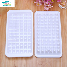 72 Cup White Refrigerator Ice Cube Tray Ice Cream Chocolate Jelly Multi Freeze Moulds Home Kitchen Bar DIY Tools
