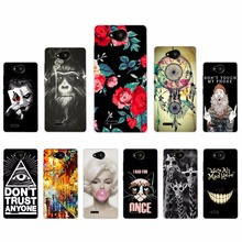 "Unique Phone Case For ZTE Blade GF3 Phone Case Soft Silicone Cover For ZTE Blade GF3 Shockproof Slim Back Cover 4.5""(China)"