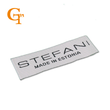 DIY custom Woven labels for clothing/Shirt/Shoes/bags,woven labels custom labels personalized china center  fold