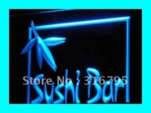 i189 OPEN Sushi Bar Cafe Restaurant LED Neon Light Signs On/Off Switch 7 Colors