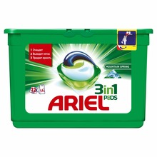 Washing Powder Capsules Ariel Capsules 3B1 Mountain Spring (12 Tablets) Laundry Powder For Washing Machine Laundry Detergent