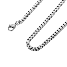 LASPERAL Silver& Gold Color Stainless Steel Chain Necklace Fit Necklace For Men Women Jewelry Making Accessories 50cm