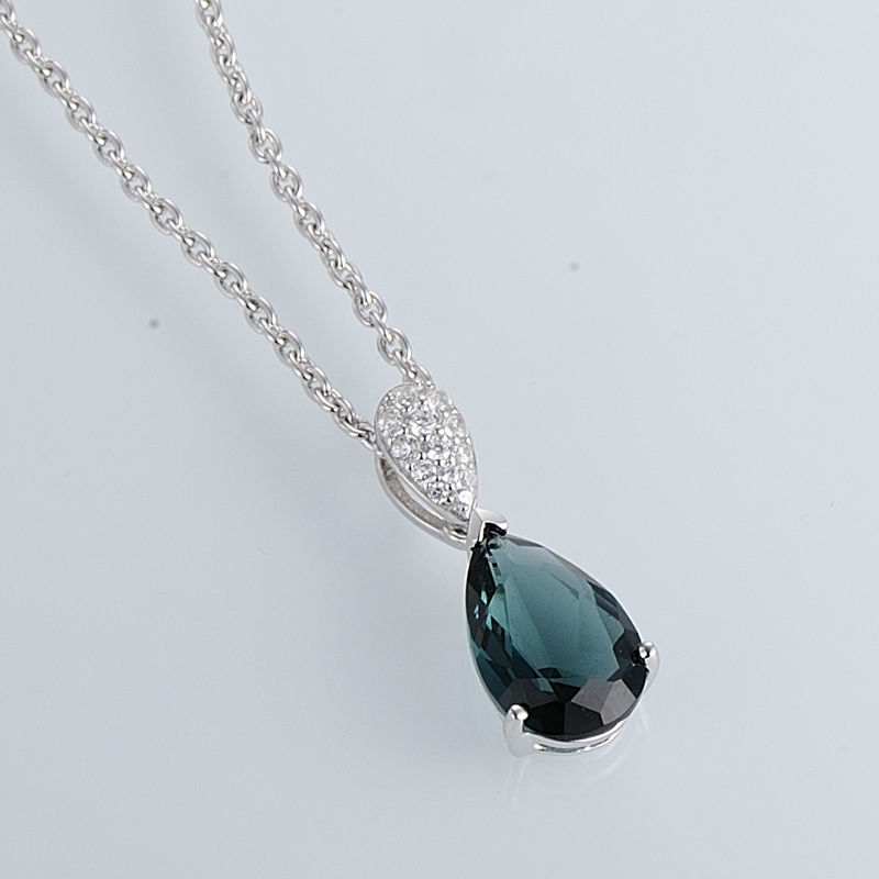 Pendant Necklace - P303468BLGZ1SL925-SV4