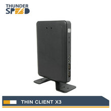 Linux Thin Client Cloud Computer X3 with A9 Dual Core 1.5Ghz 1G RAM 4G Flash Linux 3.0 Embedded RDP 7.1 Protocol