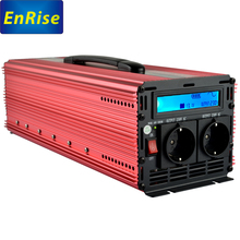 inverter 12v 220v 230V pure sine wave 2500W/5000W peak for home application with LCD and handle