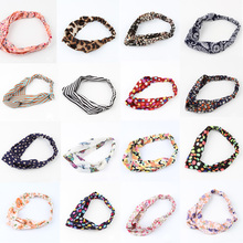 Newly Arrival Hot Sale Lovely Retro Cross Vintage Multi-colors Cloth Headband - 15 Styles