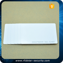 50pcs withe EM4100 Compatible125Khz RFID Proximity Cards ID Card Door Entry Access 0.8mm, IN STOCK(China)