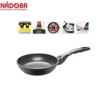 Frying pan with non-stick coating and detachable handle 20 cm NADOBA series VILMA