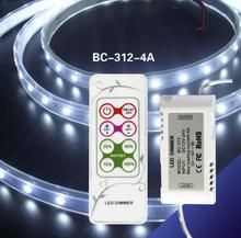 BC-312-4A 4 DIY modes LED PWM dimmer 12V 4A Led Dimmer RF Remote For SMD 5050 LED Strip Light Wholesale/Retail
