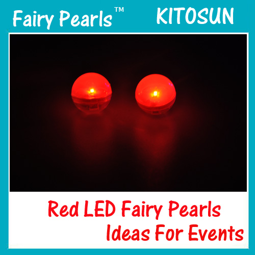 Red Fairy Pearls