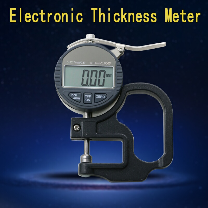 0.01mm Electronic Thickness Meter 0-12.7mm/0.5inch Digital Micrometer Thickness Gauge Micrometro Width Measuring Instruments Dat<br><br>Aliexpress