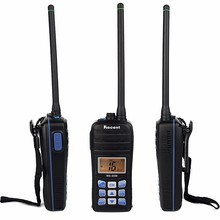 5W/1W VHF Walkie Talkie RS-35M IP67 Waterproof Marine Radio LCD Display Float Handheld Transceiver Two Way Ham Radio