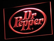 a070 Dr Pepper Gifts Product Pub Bar LED Neon Sign with On/Off Switch 7 Colors to choose