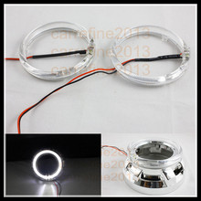 Rockeybright led angel eyes full circle 100mm angel eyes led ring for car headlight led halo ring 100mm angel eyes headlights(China)