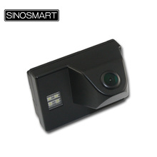 SINOSMART In Stock High Quality Car Parking Reverse Camera for Toyota Land Cruiser Install in License Plate Lamp Hole Waterproof