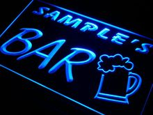 pv-tm Name Personalized Custom Home Brew Bar Beer Mug Glass Neon Light Sign Wholesale Dropshipping On/Off Switch 7 Colors DHL