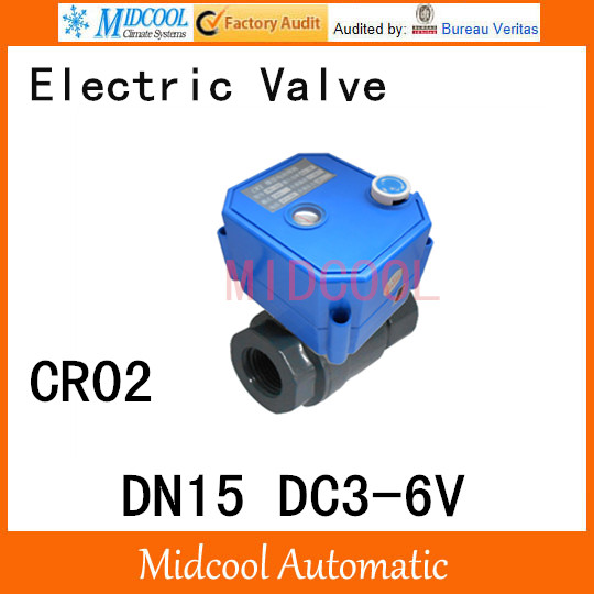 CWX-25S Stainless steel Motorized Ball Valve 1/2 DN15 Water control Angle valve DC3-6V 2 way wires CR-02<br><br>Aliexpress