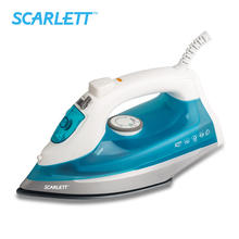 Scarlett SC-SI30K12 2200W Electric Iron Steam Iron Coated Non-Stick Soleplate Household Machine Caring For Clothes