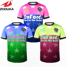 New Pattern Design Custom Your Team Soccer Jersey Sublimation soccer cloth football shirt(China)