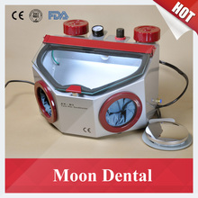 CE Approved Twin-Pencil AX-B3 Dental Sandblaster Dental Lab Equipment Sandblasting Unit for Polishing Porcelain Crowns & Jewelry