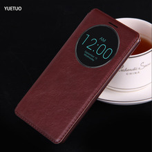luxury original case for lg g3 g 3 d855 d850 fashion pu leather holster circle view phone flip window retro stand bag g3 cover