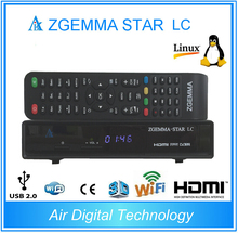 2pcs/lot 2017 New product Zgemma star LC DVB-C Linux Enigma 2 Linux HD Digital Receiver PVR Ready