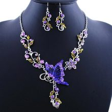 Necklace Set - New Arrival European And American Fashion National Wind Butterfly Necklace #1724385