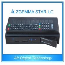 2pcs/lot New WorldWide FTA Zgemma-Star LC HD Satellite Receiver Linux OS E2 Updated DVB-C One Tuner With Full Channels Softwares