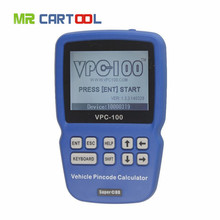 Hot Sale Superobd VPC-100 Hand-Held Vehicle Pin Code Calculator For almost all cars With 500 Tokens Update Online(Hong Kong)