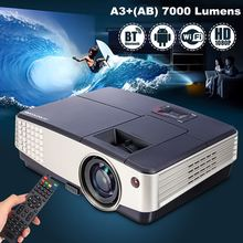 Buy 7000 Lumens A3+AB Projector 1080P Full HD LCD Wifi Home Theater Cinema 72W LED Android 4.4 Bluetooth Multimedia Beamer for $187.00 in AliExpress store