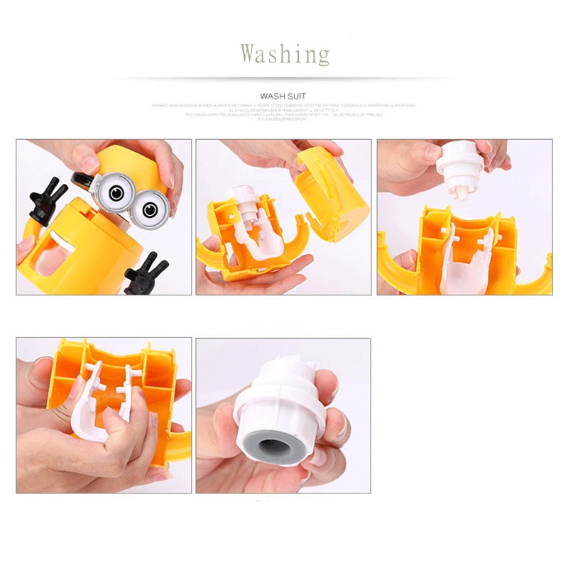 Minion Automatic Toothpaste dispenser + Brush Holder 14