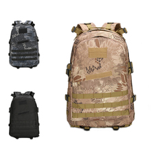 3D Outdoor Sport Military Tactical climbing mountaineering Backpack Camping Hiking Trekking Rucksack Travel outdoor Bag 55L