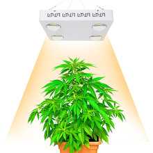 Dimmable CREE CXB3590 400W COB LED Grow Light Full Spectrum 48000LM = HPS 600W 800W Growing Lamp Indoor Plant Growth Lighting