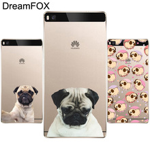 L025 Cute Dog Soft TPU Silicone  Case Cover For Huawei P8 P9 P10 Lite Plus 2017 Honor 8 Lite Pro 9 5C 6X V9
