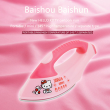 ITAS1304 Hello Kitty Mini electric iron Travel Hostel essential portable electric iron steam presses
