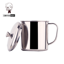 Tea cup TOP Brand tumbler with handgrip drinking 304 stainless steel Milk coffee mug(China)