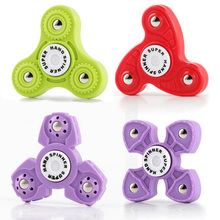 Buy Cross Shape Finger Spinner Tri Windmill Fidget Hand Gyro Adult Kids Focus Toy for $1.14 in AliExpress store