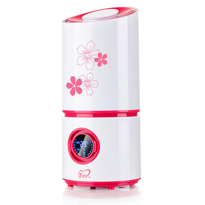 ITAS3307 Quiet Humidifier room office purification moisture spray creative fragrance intelligent crystal humidifier<br>