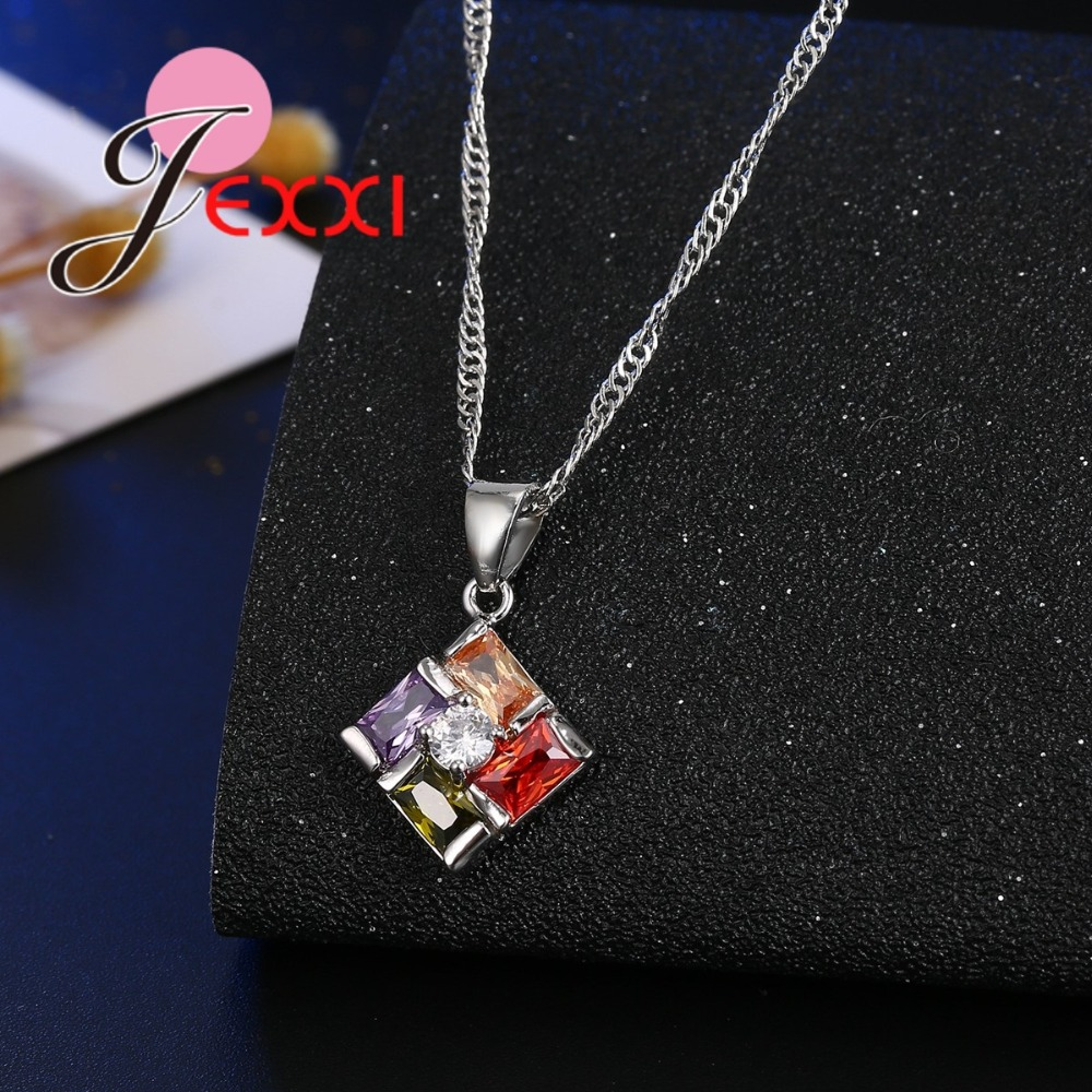 JEXXI-New-Jewelry-Set-Colored-CZ-Crystal-Pendant-Necklace-Earrings-Set-for-Women-Party-Accessories-Fashion (3)