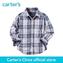 Carter's 1pcs baby children kids Plaid Button-Front Shirt 243G606, sold by Carter's China official store