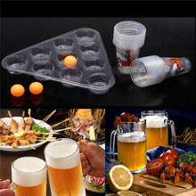 NEW Entertainment Top Board Games Beer Pong Kit Party Fun 22 Cups 3 Balls For Adult Freinds Table Drinking Game Pub Bar BBQ Gift(China)