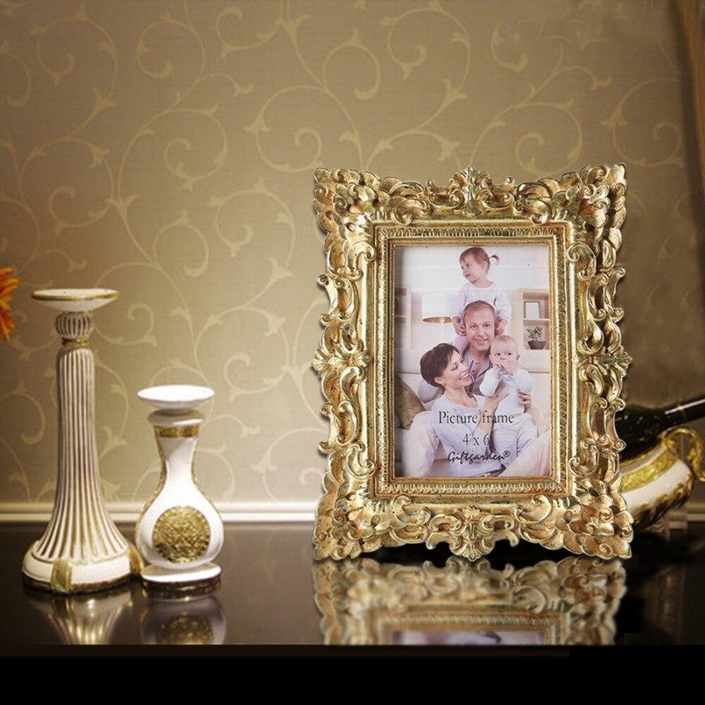 Giftgarden 4x6 Vintage Photo Frames Gold Picture Frame Wedding Gift Ho_3