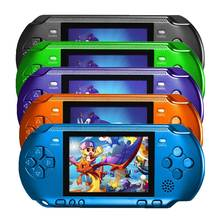 3.2 Inch Portable Handheld Game Players With 318 Different Classic Retro Game Console Player TV Out Support External Handle(China)