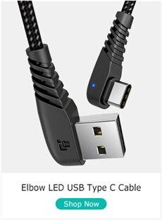 usb c cable led b