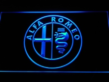 d146 Alfa Romeo Car Services Parts LED Neon Sign with On/Off Switch 7 Colors 4 Sizes to choose(China)