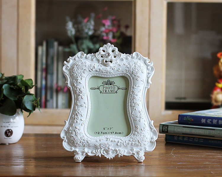 2016 NEW European Home Furnishing white Photo frame 6 inch 7 inch wed_B3_14