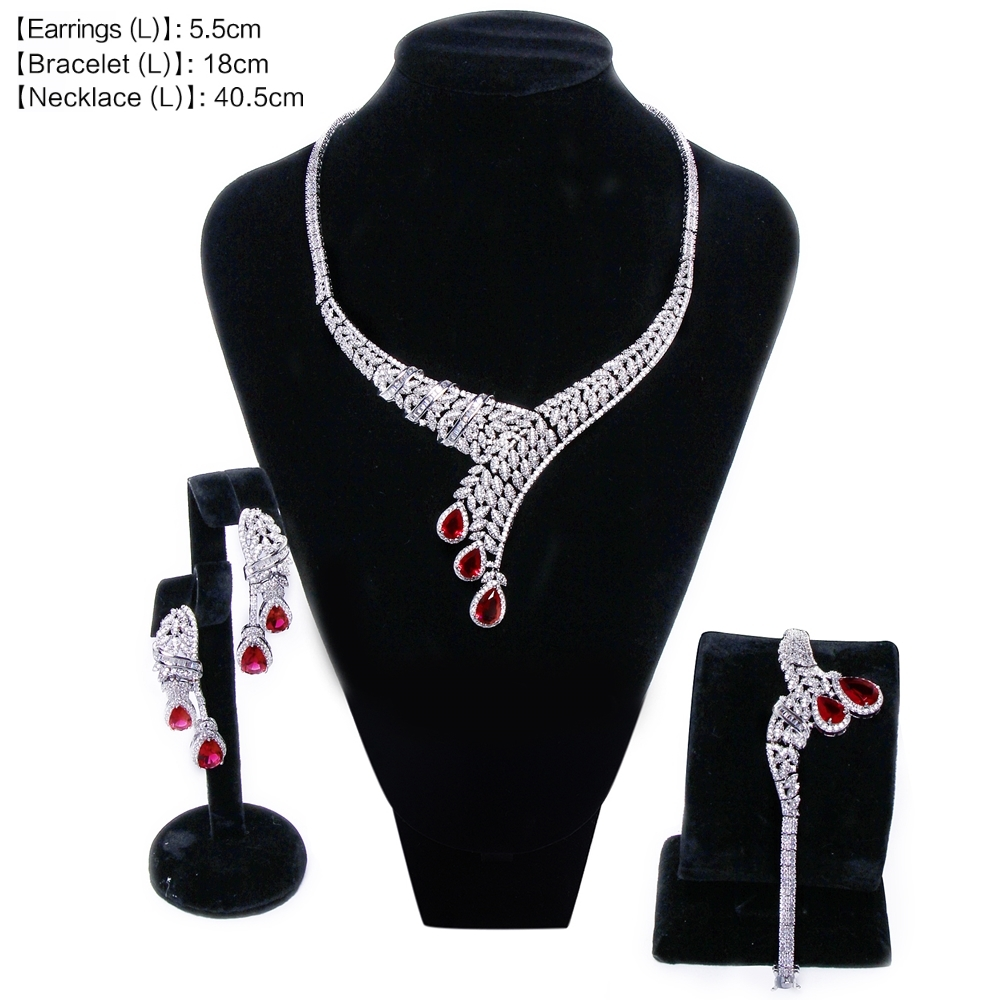 Red Wedding set SN04156SI (6)