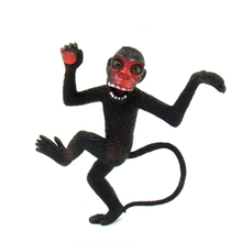 15cm Trick toy Practical Jokes Toys Simulation Monkeys Fool Day Prank Toys Mischievous Small Animals Rubber Monkey(China)